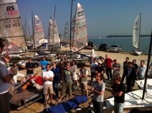Trophée Breizhskiff - Briefing Lac du Der
