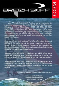 Un flyer BSP sur le salon nautique